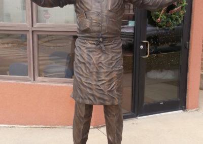 Governor Robert S. Vessey Statue