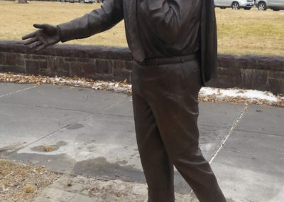 Governor George S. Mickelson Statue
