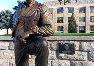 Governor Arthur C. Mellette Statue