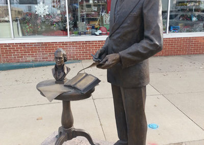 Governor Harlan J. Bushfield Statue