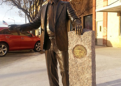 Governor Harvey Wollman Statue