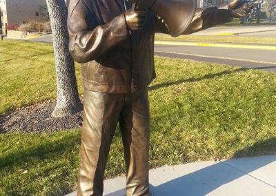 Governor William J. Janklow Statue