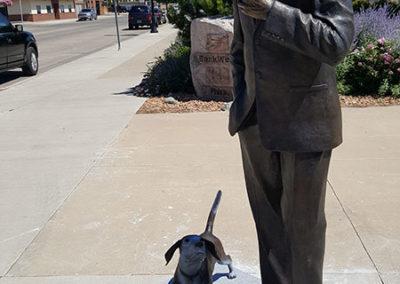 Governor Nils Boe Statue
