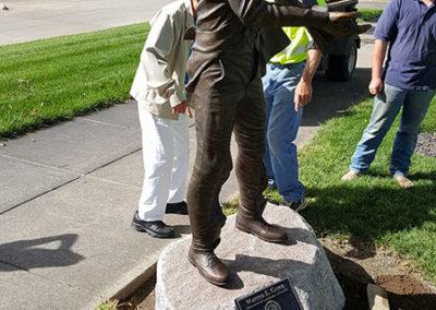 Governor Warren Green Statue