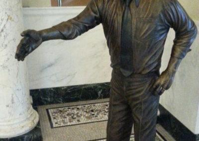 Governor Richard Kneip Statue