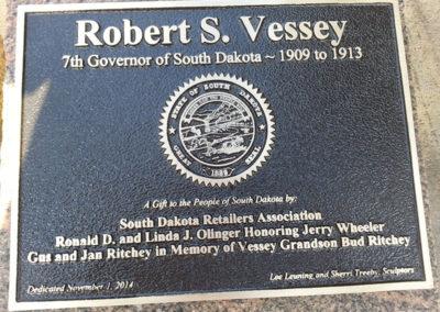 Governor Robert S. Vessey Plaque