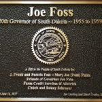 Joe Foss Plaque