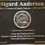 Sigurd Anderson Plaque