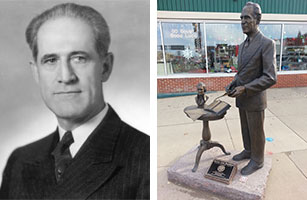 Governor Harlan John Bushfield